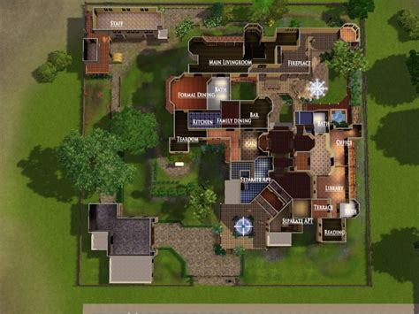 sims house floor plans sims modern mansion floor plans queenstown plan home