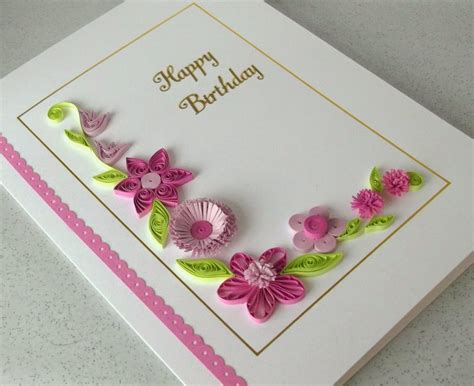 Paper Gift Card - the gallery for gt handmade paper quilling birthday cards
