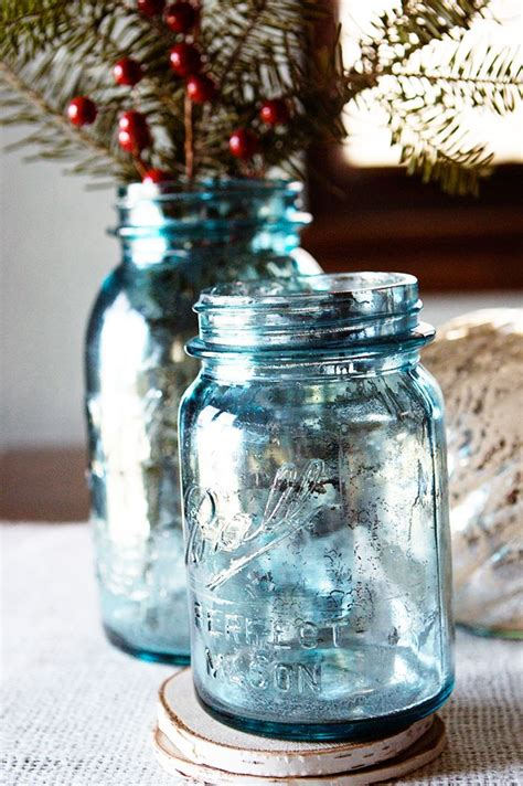 spray painting jars looking glass spray paint by krylon and blue jars