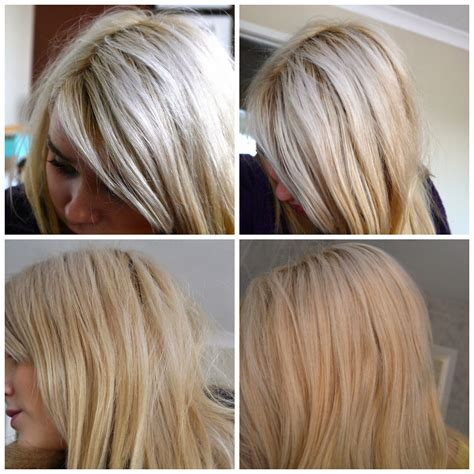 hair toner colors live colour toner mousse for hair before