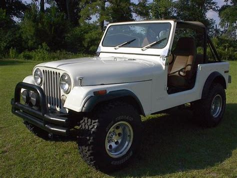 1976 Jeep Cj7 For Sale Sell Used 1976 Jeep Cj7 New 6cyl Engine Auto Trans W