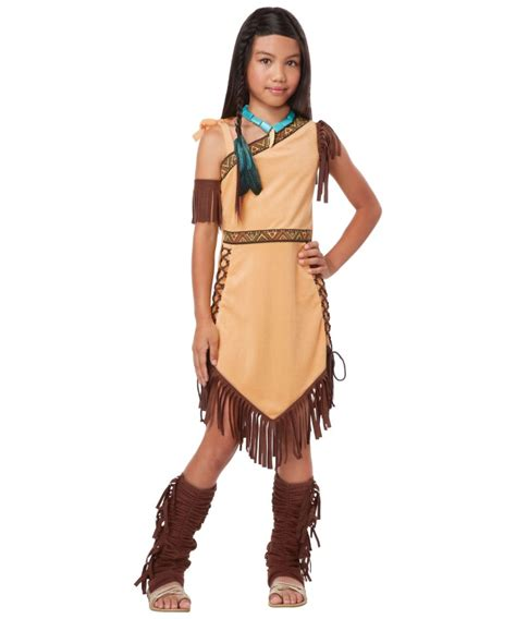 Native American Princess Girls Costume Girls Indian Costumes American Princess