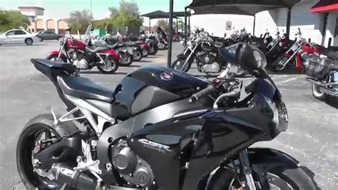 Honda Cbr1000rr For Sale by 100034 2010 Honda Cbr1000rr Used Motorcycle For Sale