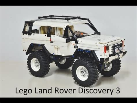 lego land rover discovery lego technic moc land rover discovery 3