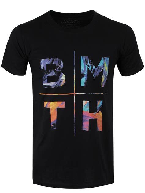 Kaos Bring Me The Horizon Logo 8 V Neck Vnk Bmh08 bring me the horizon colours s black bmth t shirt m 38