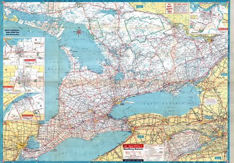 Finder Ontario Ontario Road Map Images Search