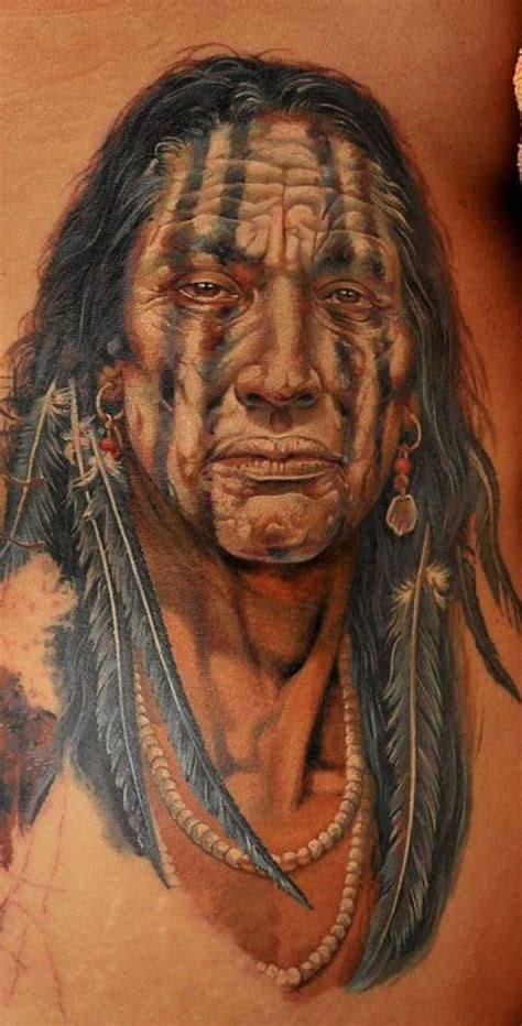 seminole indian tattoo designs stunning ink indian chief and