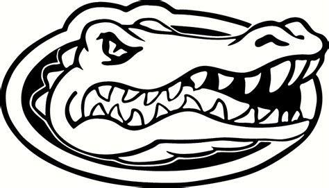 florida gators logo coloring pages coloring pages