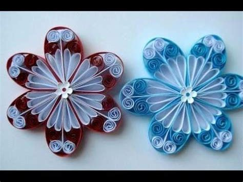 How To Make Paper Quilling Flowers - best 25 quilling flowers tutorial ideas on