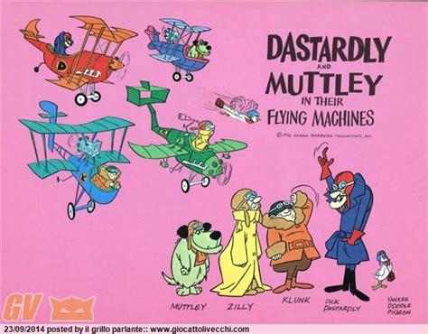 dastardly e muttley e le macchine volanti alla ricerca dell anime perduto negli anni 80 mtb