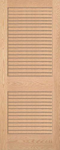 oak louvered wood interior doors homestead doors