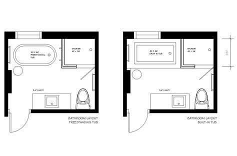 Bathroom with closet layout plans 9 x 10 together with