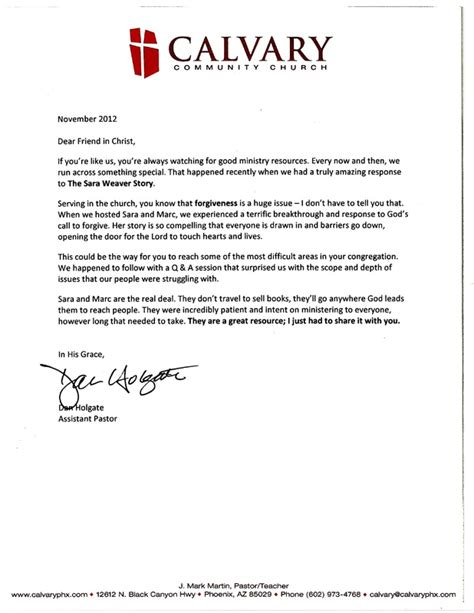 Recommendation Letter Sle Church Member Ruby Ridge Pastor References Ruby Ridge Official Web Site