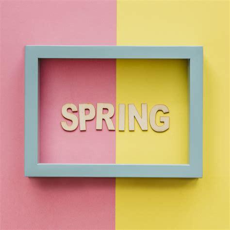 scarica cornice per foto gratis parola di primavera in cornice scaricare foto gratis