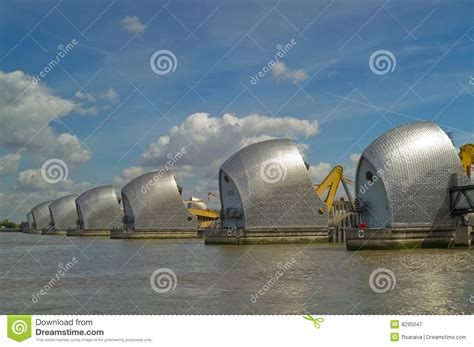 thames barrier animal clinic thames barrier royalty free stock photography image 8295047