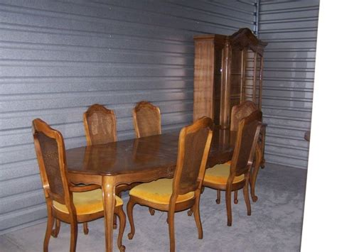 Pecan Wood Furniture Dining Room Hibriten Pecan Finish Dining Set Eight Foot Table With Six Chairs With Articles With Pecan Wood