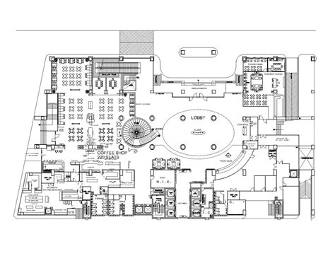 layout of lobby in hotel grand four wings convention hotel napong kulangkul