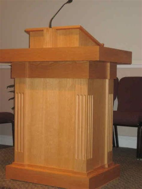 intelligent design woodwork church pulpit church