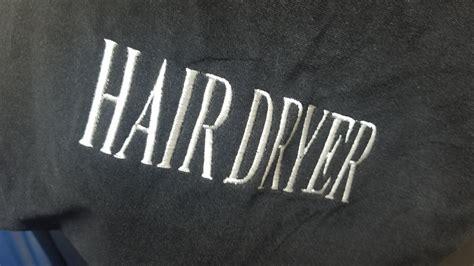 Hair Dryer Storage Bag hair dryer storage bag black agh hospitality supplies