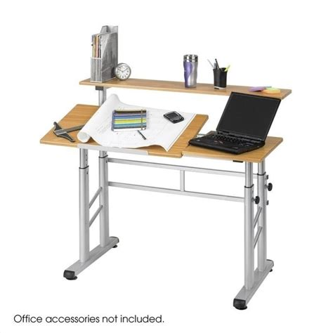 Height Adjustable Split Level Drafting Table 3965mo Ergonomic Drafting Table