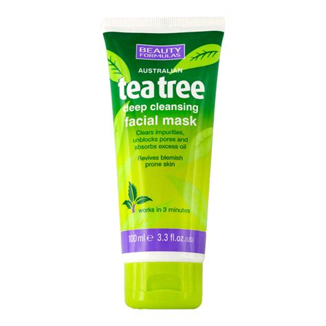 Tea Tree Mask 100ml formulas mask 100ml australian tea tree
