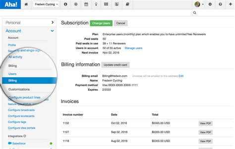 Billing Section by Just Launched Three New Administrator Roles Aha