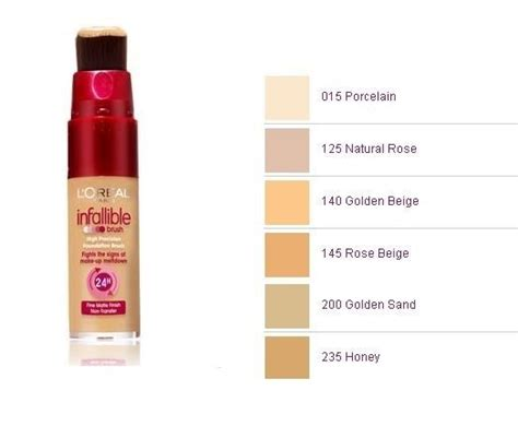 l oreal infallible colors loreal infallible brush foundation choose color ebay