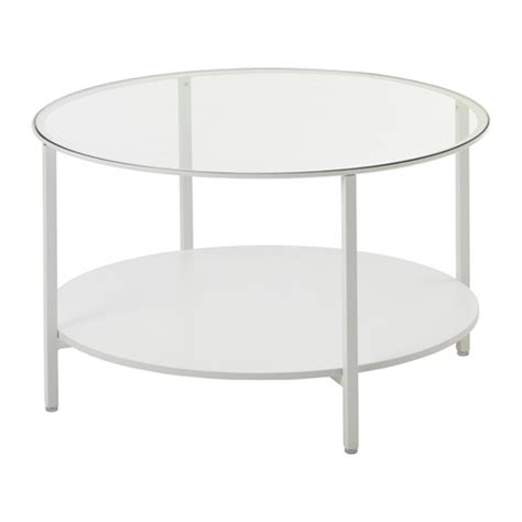 vittsj 214 coffee table white glass ikea
