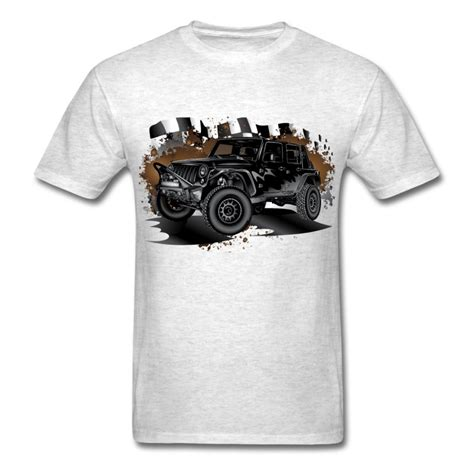Jeep Shirts Jeep Wrangler Black Racer T Shirt Spreadshirt