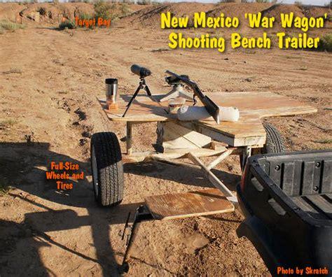 mobile shooting bench shooting bench 171 daily bulletin