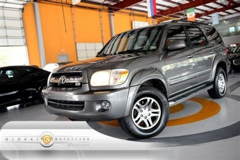 06 Toyota Sequoia Purchase Used 06 Toyota Sequoia Limited 4wd 1 Owner Jbl