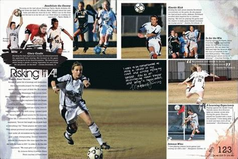 yearbook layout ideas for sports writing captions on the photos layout yearbook ideas