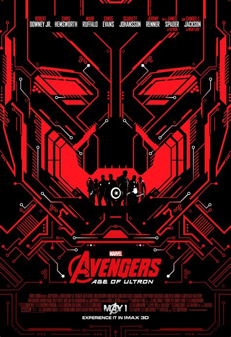 Imax Poster Giveaway - choose one of four avengers age of ultron imax posters