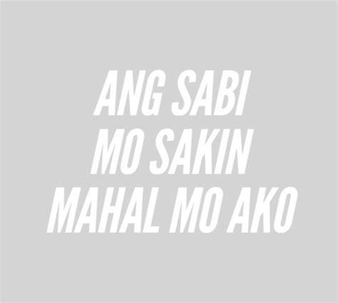 self kowts tagalog tagalog quotes on