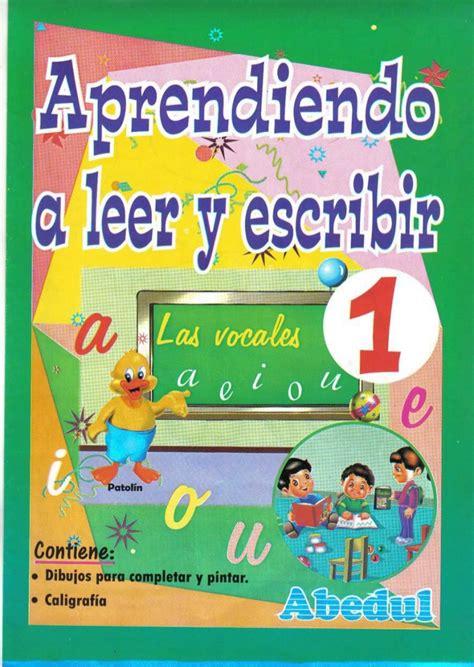 libro leer y aprender en aprendiendo a leer y escribir 1