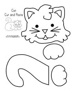 color and cut cut and paste easter coloring pages 2017 2018 best