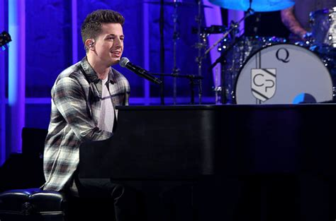 charlie puth ellen charlie puth performs one call away on jimmy kimmel