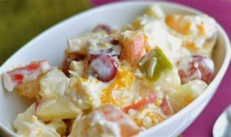 cara membuat salad buah menggunakan yogurt cara membuat salad buah sehat segar nikmat umi resep