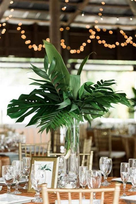 25 Greenery Wedding Table Runners And Centerpieces