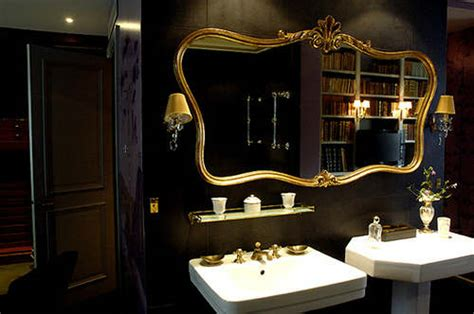 black gold bathroom luxury black and gold bathrooms decoholic