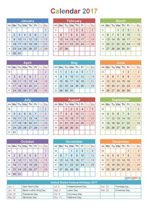 printable 2017 monthly calendar editable 2017 calendar