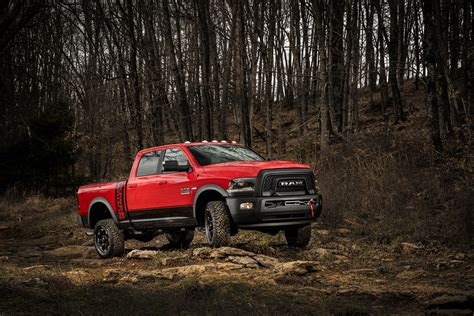 Ram Power 2017 Ram Power Wagon Ditches Chrome Grille For Blacked Out Snout Autoevolution