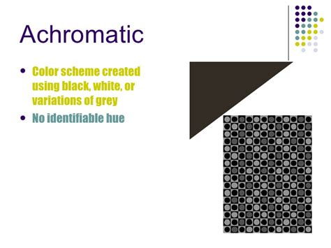 achromatic color color power point