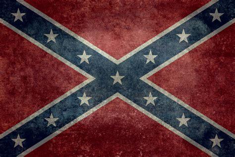 Rebel Flag Home Decor confederate flag vintage version art print by