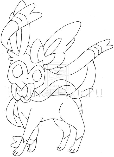 pokemon coloring pages eevee evolutions sylveon pokemon eevee evolutions coloring pages images pokemon