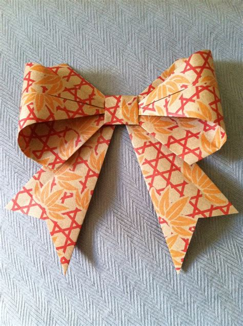 Origami With Ribbon - 17 best images about bows on paper bows