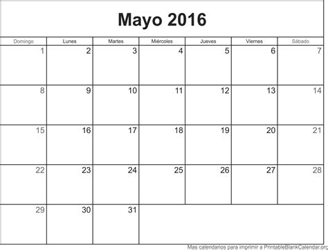 almanaque mayo 2016 image gallery mayo calendario 2016