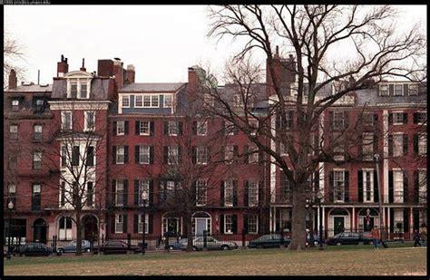 Boston Row Houses - boston images
