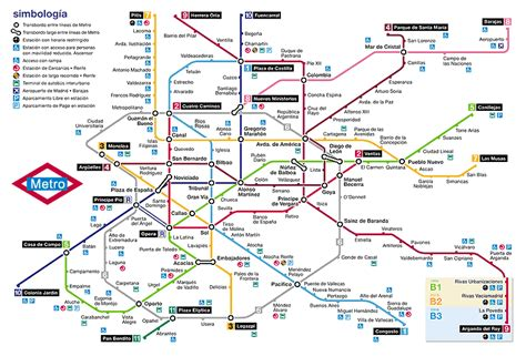 plano metro de madrid pz c metro madrid