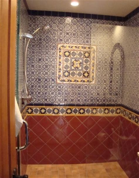 spanish tile bathroom ideas 91 best talavera tile bathroom ideas images on pinterest